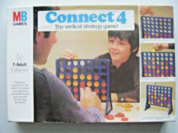 Connect 4  Game  by MB 1975